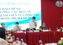 Bệnh viện Tai Mũi Họng Trung ương đạt tiêu chuẩn bệnh viện an toàn trong công tác phòng chống dịch COVID-19