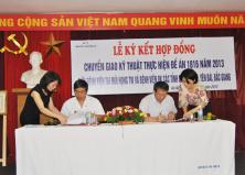 Các hoạt động chỉ đạo tuyến Bệnh viện Tai Mũi Họng Trung ương