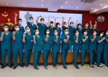 Hỗ trợ TP Hồ Chí Minh chống dịch COVID-19: Sự thúc giục của trái tim và lương tâm người thầy thuốc