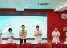 Bệnh viện Tai Mũi Họng TW tổ chức Lễ phát động Tăng cường vệ sinh tay 2020