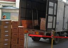 Bệnh viện Tai Mũi Họng Trung ương tiếp nhận sản phẩm kháng khuẩn phòng, chống dịch Covid-19