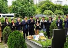 Bệnh viện Tai Mũi Họng Trung ương tổ chức thăm viếng mộ Giáo sư Trần Hữu Tước