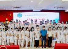 Bệnh Viện Tai Mũi Họng Trung ương xuất quân chi viện cho Thành phố Hồ Chí Minh chống dịch Covid-19