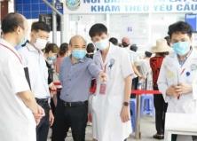 Bộ Y tế kiểm tra, đánh giá chất lượng Bệnh viện Tai Mũi Họng Trung ương
