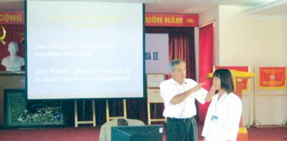 Các hoạt động đào tạo cán bộ chuyên khoa Bệnh viện Tai Mũi Họng Trung ương